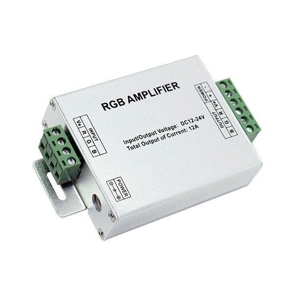 Ενισχυτής RGB Αλουμινίου 12Volt, 144Watt