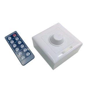 LED Dimmer Τοίχου 12-24Volt με IR Control 192-384Watt