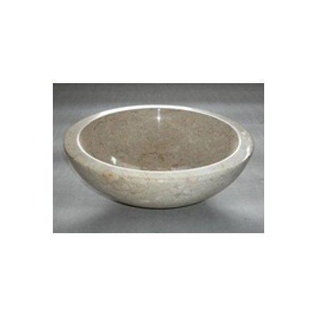 Stone Basin Rotonda Lucida Cream