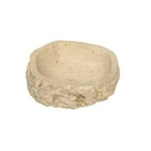 Πέτρινος Νιπτήρας Rotonda Marble Cream