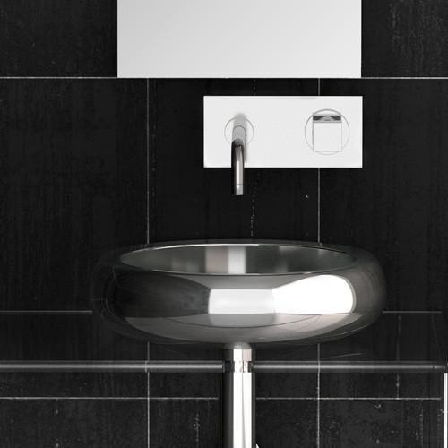 Counter Top Washbasin Round Glo Ball