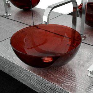 Επιτραπέζιος Νιπτήρας Μπάνιου Laguna Red